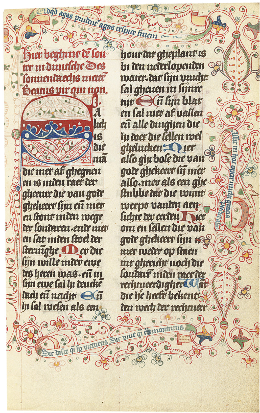 PSALTER WITH FESTAL BREVIARY,