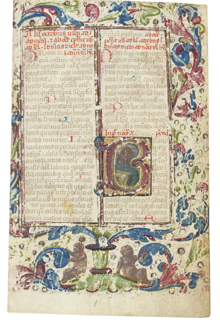 BREVIARY, in Latin, ILLUMINATE