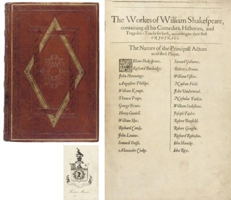 [SHAKESPEARE, William (1554-16