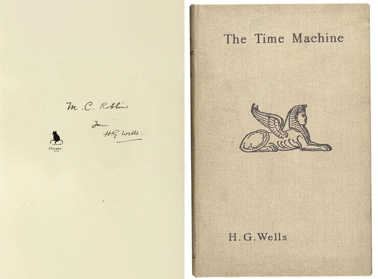 WELLS, H.G. The Time Machine,