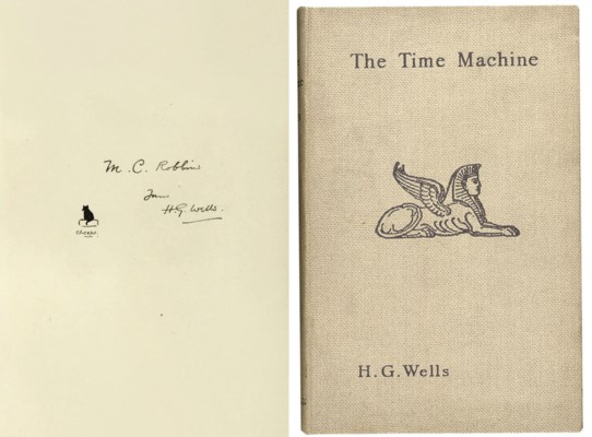 WELLS, H.G. The Time Machine,