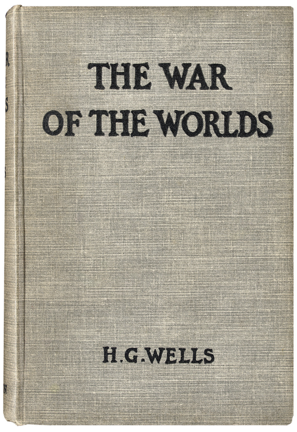WELLS, H.G. The War of the Wor
