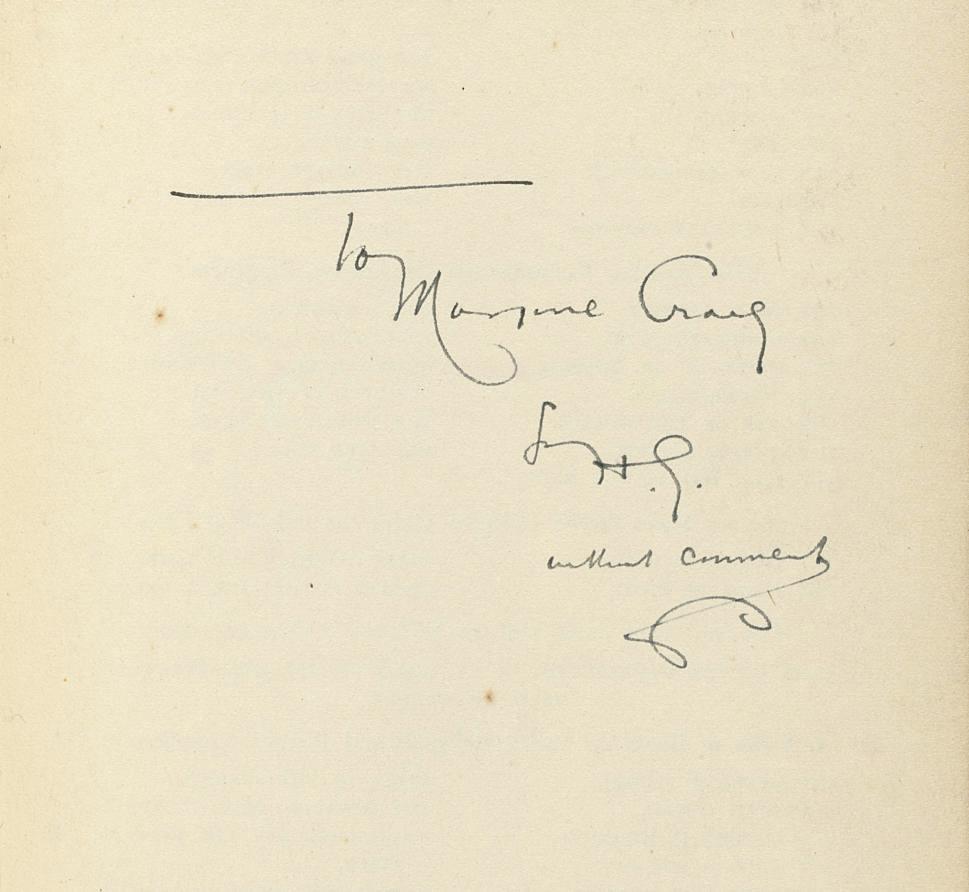 WELLS, H.G. The Dream, a novel
