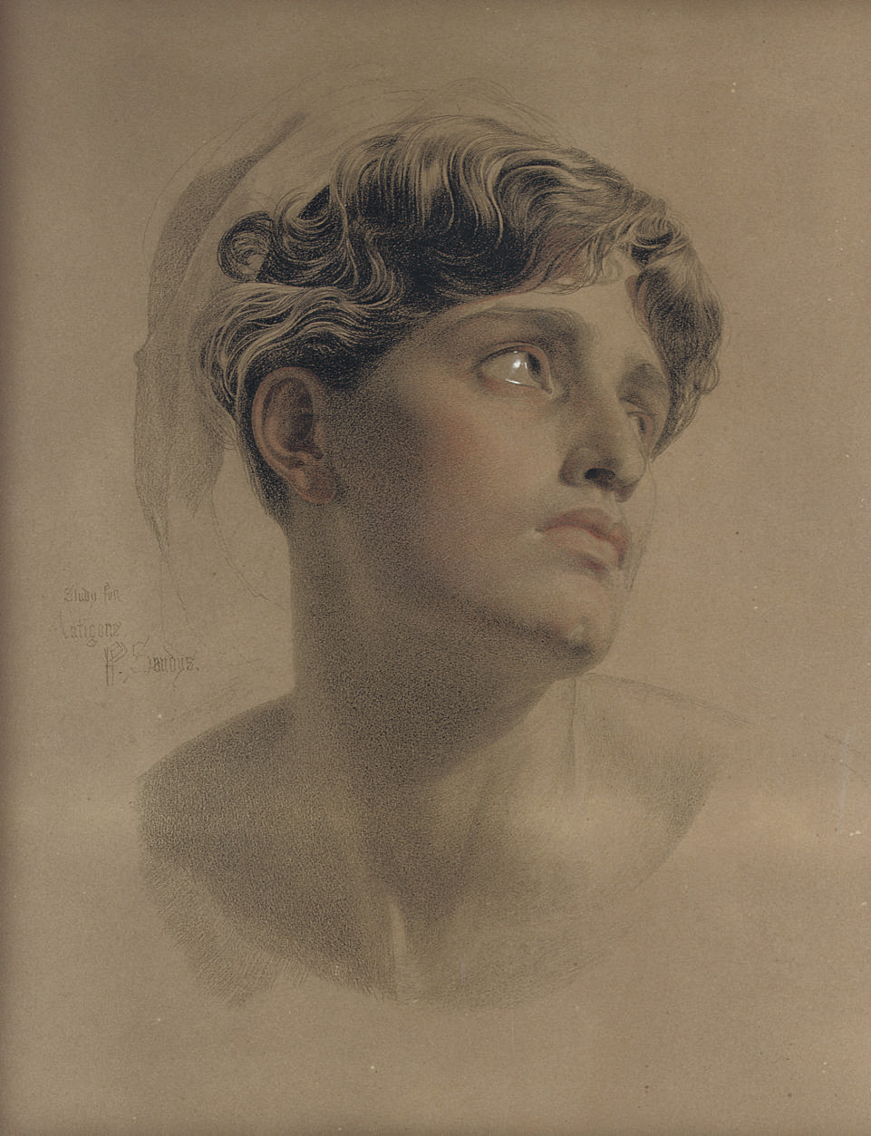 Study for Antigone