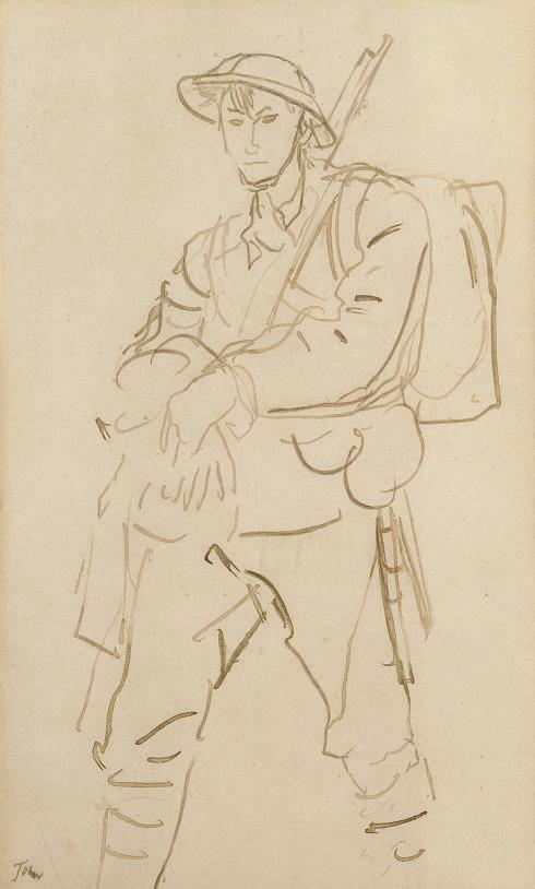 Augustus Edwin John, O.M., R.A