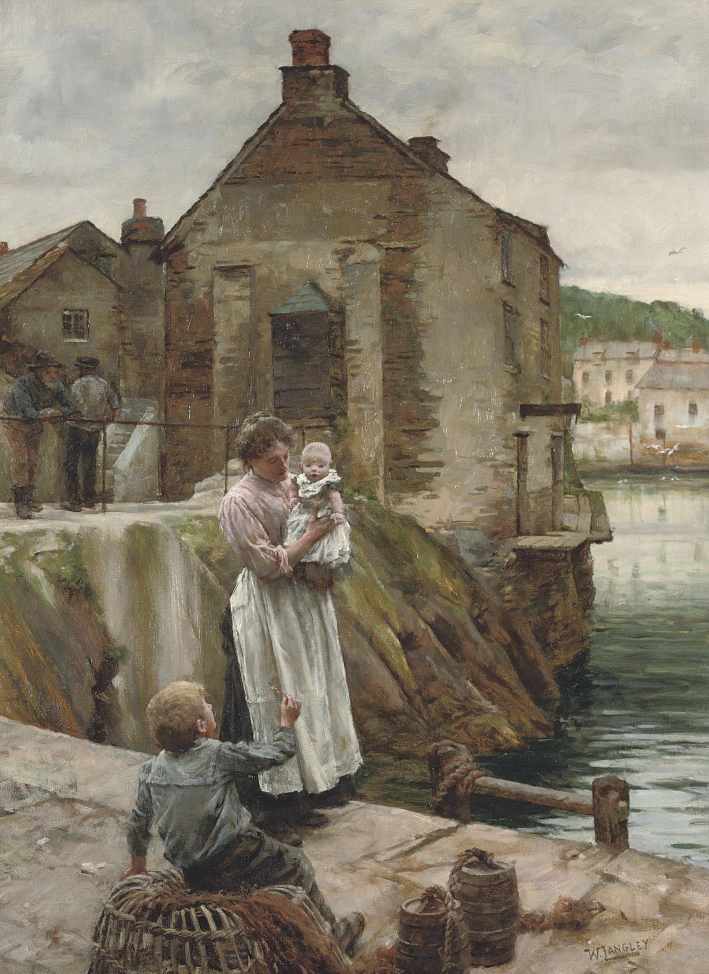 Walter Langley, R.I. (1852-1922)