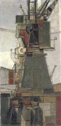 Cranes and men