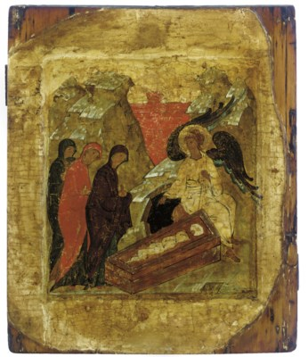 THE HOLY WOMEN AT THE SEPULCHR