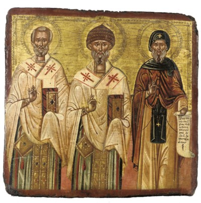 THREE CHURCH FATHERS
