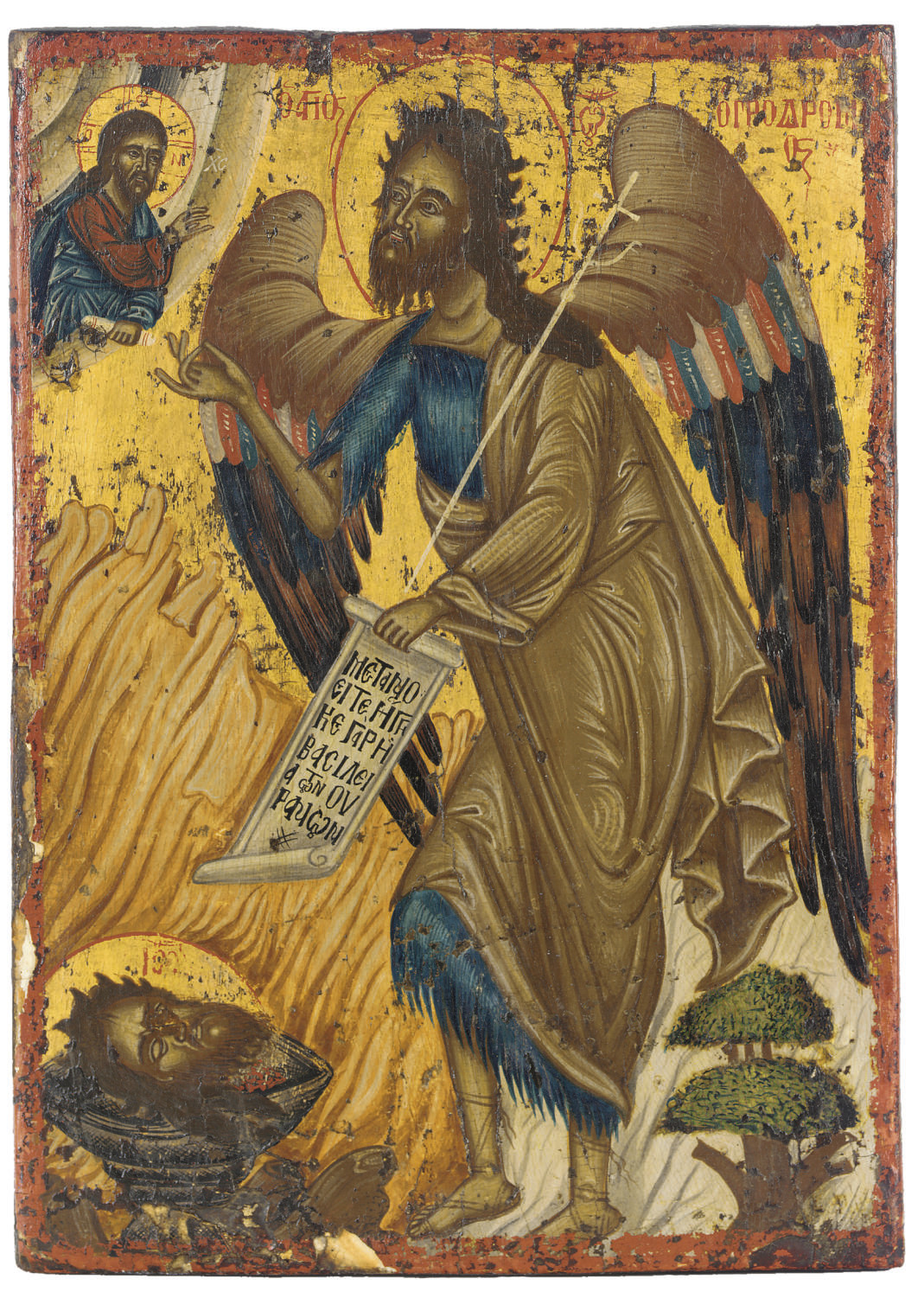 ST. JOHN ANGEL OF THE DESERT
