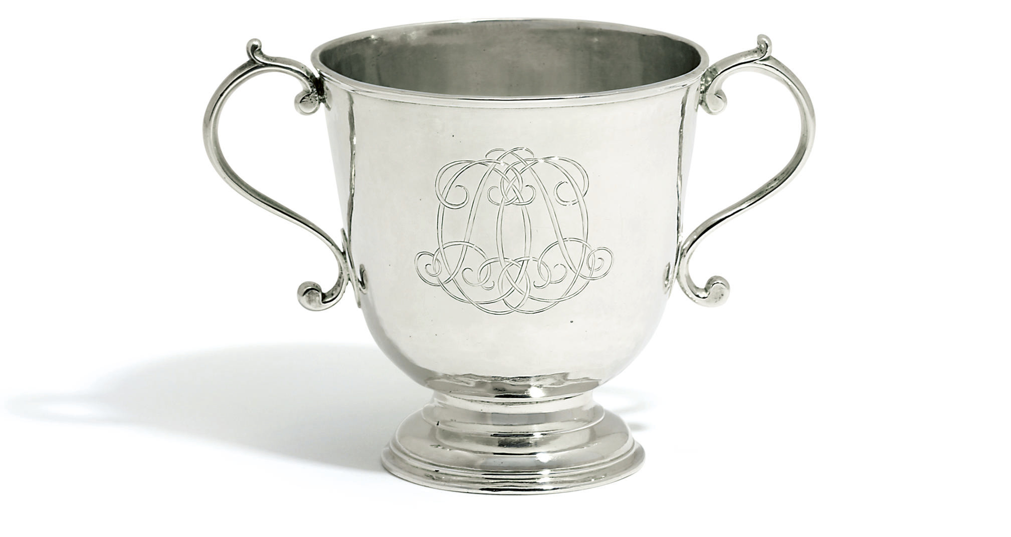 A QUEEN ANNE IRISH SILVER TWO-