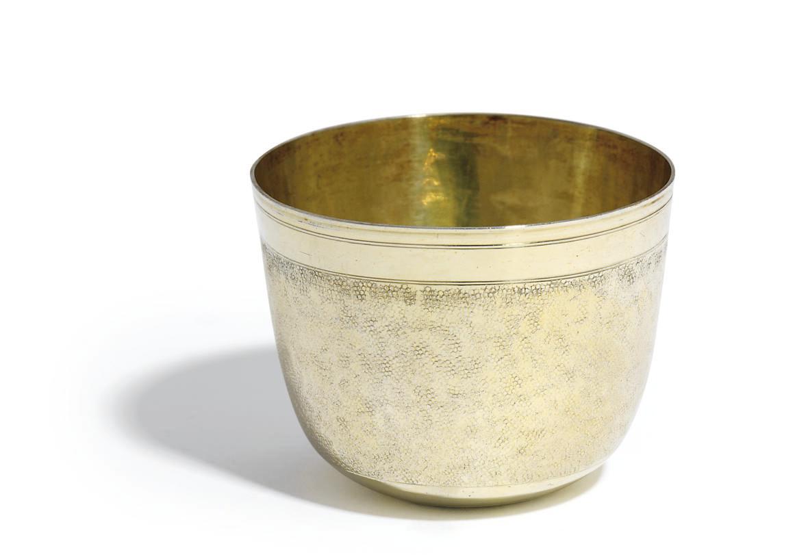A GERMAN SILVER-GILT TUMBLER-CUP