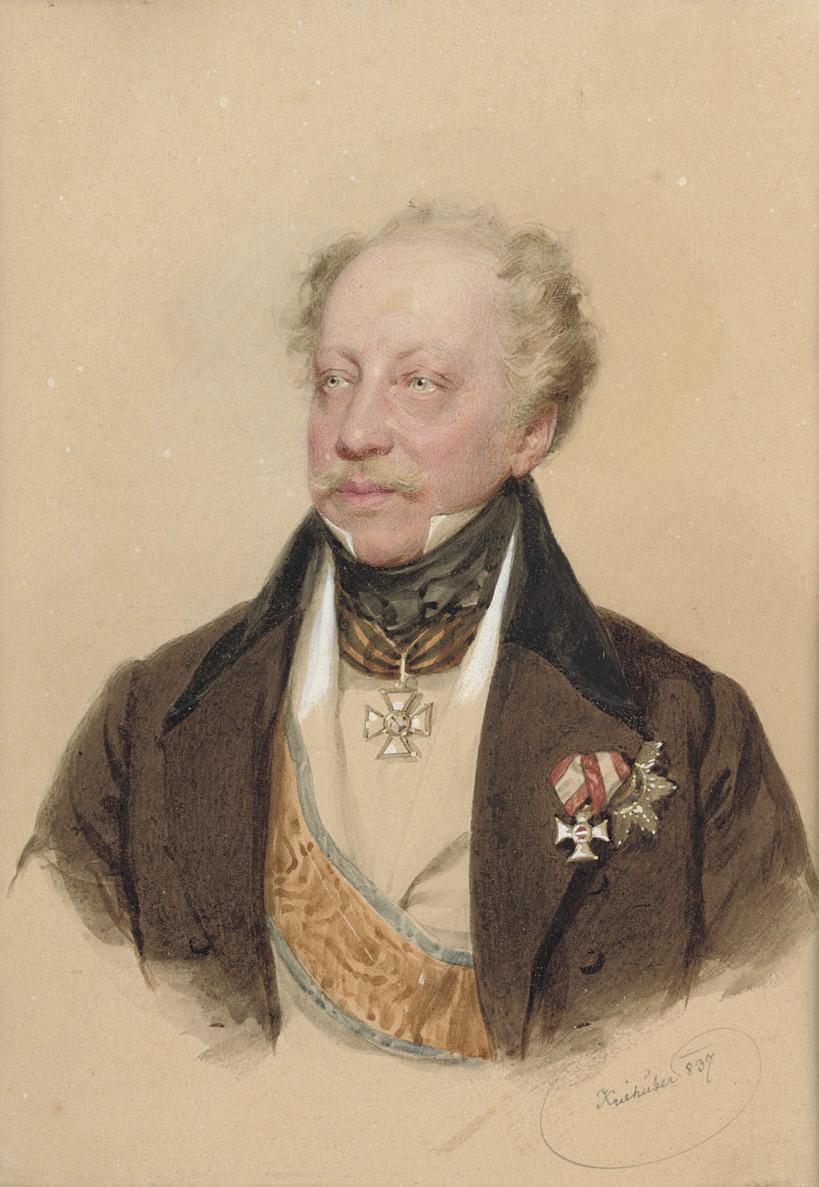 Portrait of Baron von Tettenborn