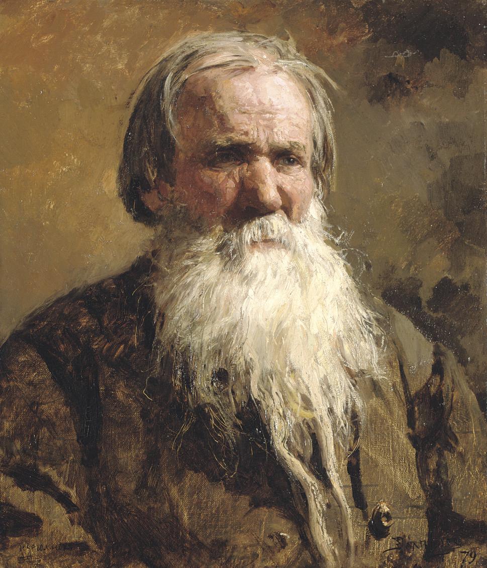 Portrait of Vasilii Petrovich Shchegolenok