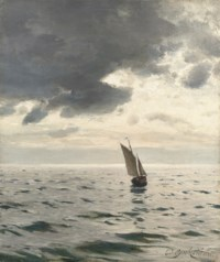 Dora. Sailing at dusk
