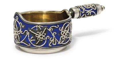 An enamelled parcel-gilt and s