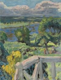 Coup de soleil (La terrasse de 'Ma roulotte' à Vernonnet)