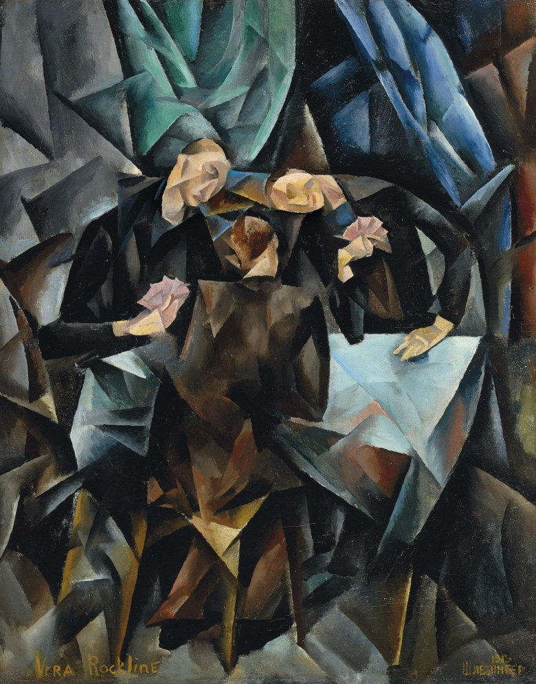 Vera Rockline (1896-1934), The Card Players, 1919. Oil on canvas. 25¼ x 19¾  in (64 x 50.2  cm). Sold for £2,057,250 on 24 June 2008 at Christie's in London