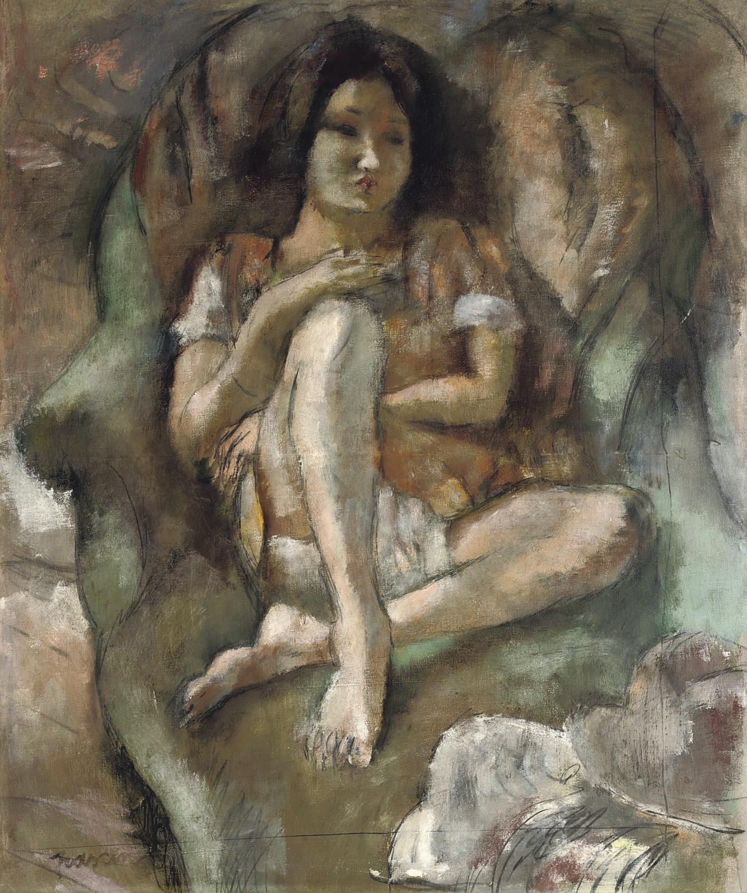 Jeune fille au fauteuil