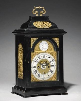 A George II brass-mounted ebon