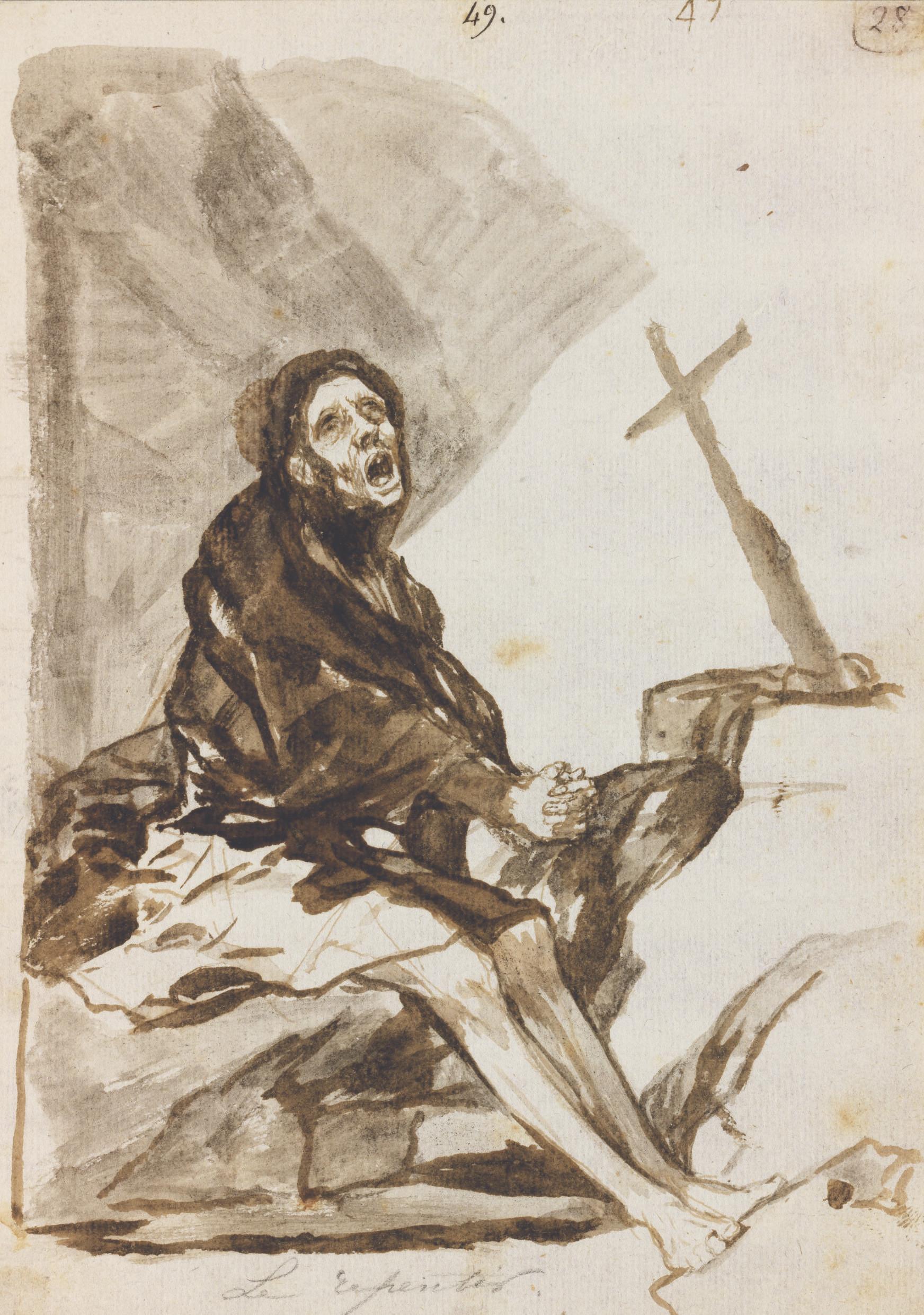Francisco José de Goya y Lucientes (Fuendetodos 1746-1828 Bordeaux)