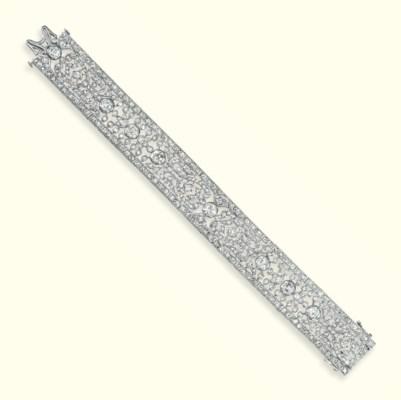 A BELLE EPOQUE DIAMOND BRACELE