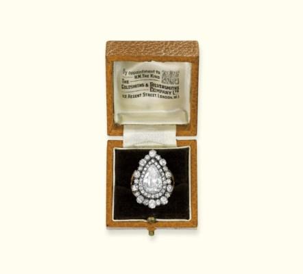 A GEORGE III DIAMOND RING