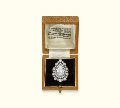 A GEORGE III DIAMOND RING