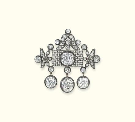 AN IMPORTANT ANTIQUE DIAMOND B