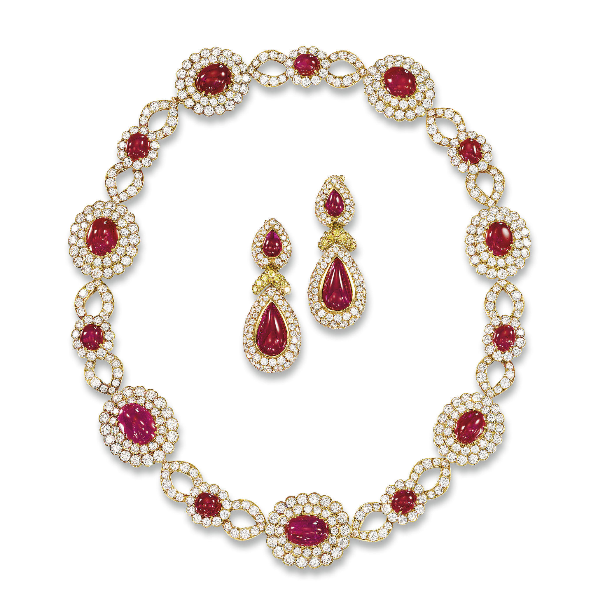 A RUBY AND DIAMOND 'VERLAINE'
