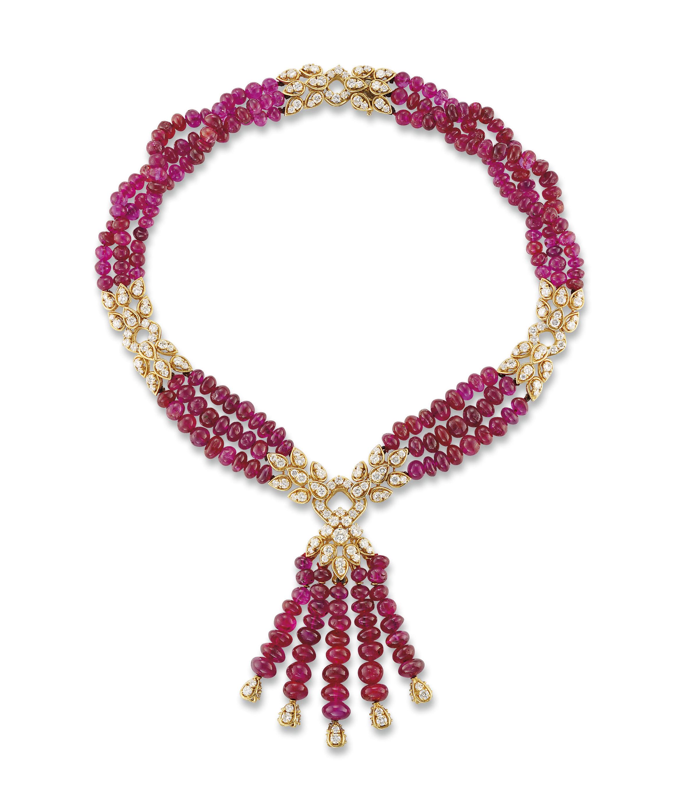 A RUBY AND DIAMOND 'SEGOVIA' N