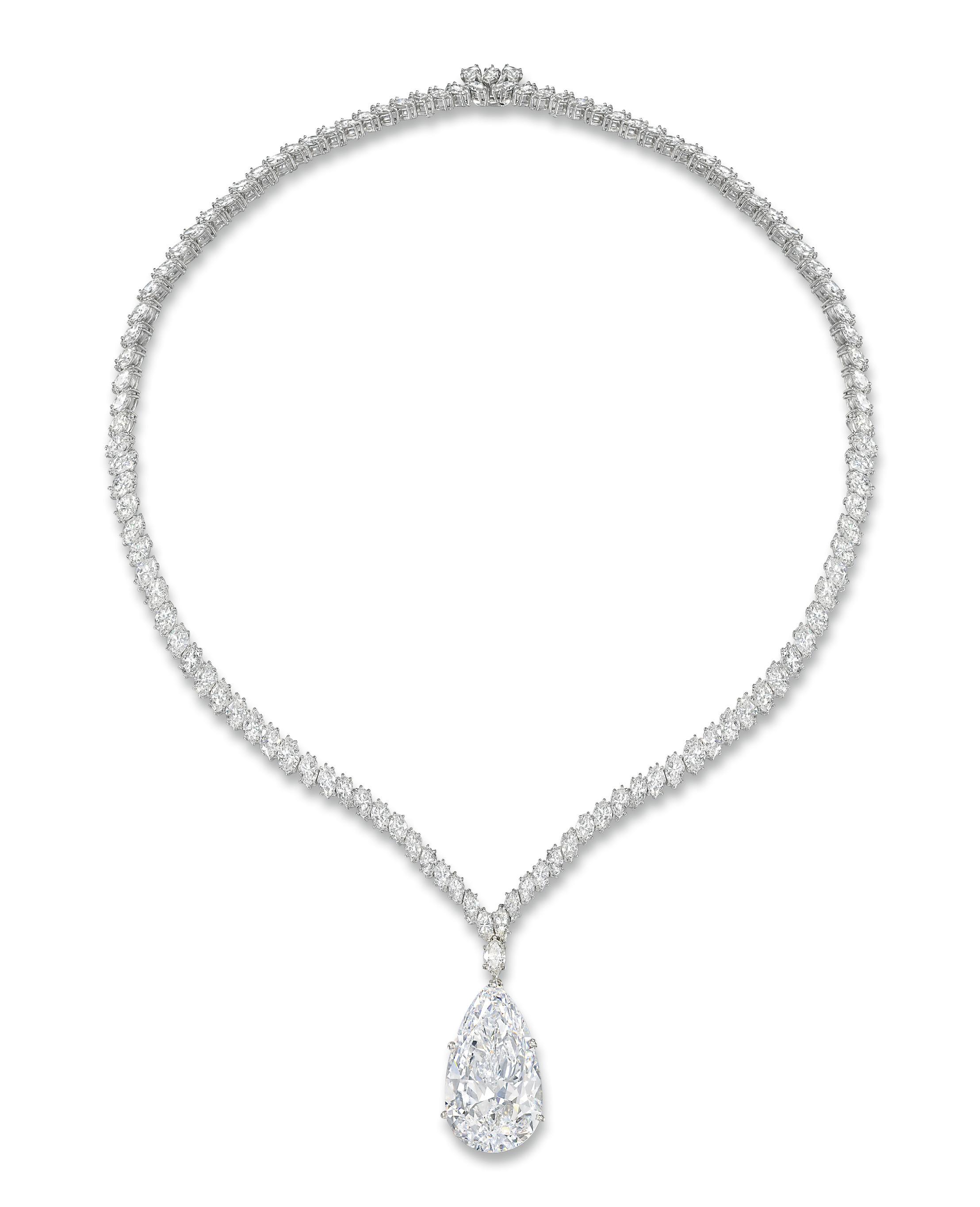 A VERY IMPORTANT DIAMOND NECKL