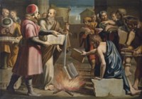Saint Paul and the burning of pagan books at Ephesus