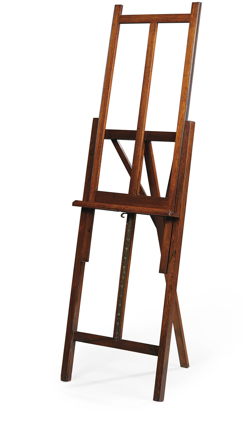 A LATE VICTORIAN ROSEWOOD PICTURE-EASEL