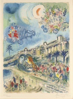 After Marc Chagall by Charles