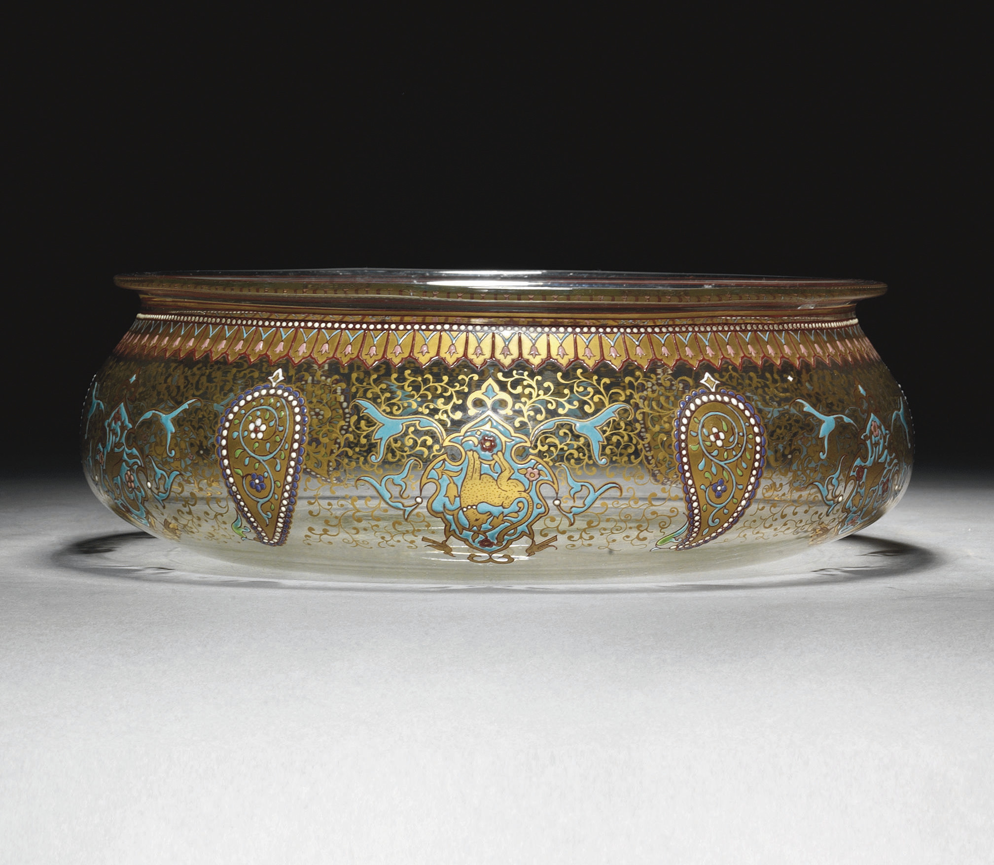 AN IMBERTON ENAMELLED AND GILT