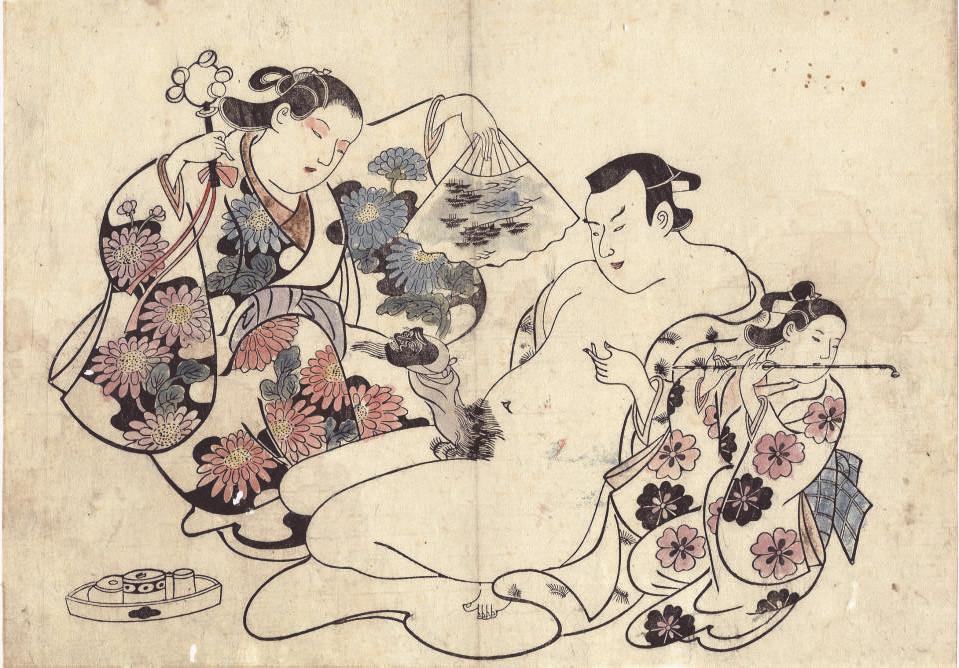 Attributed to Torii Kiyonobu (