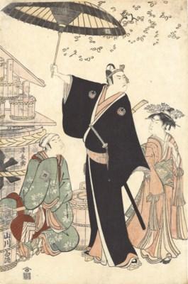 TORII KIYONAGA (1752 - 1815)