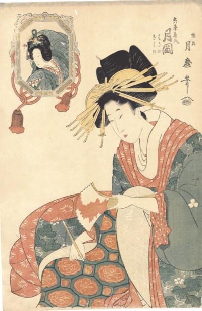 Kitagawa Tsukimaro (fl. ca. 18