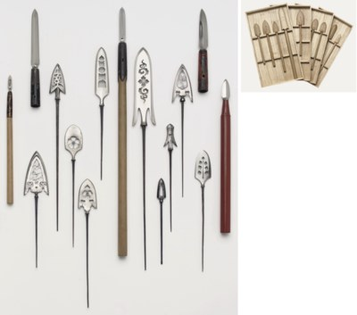 A COLLECTION OF FIFTEEN SPEARS