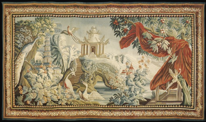 A FRENCH CHINOISERIE PASTORAL