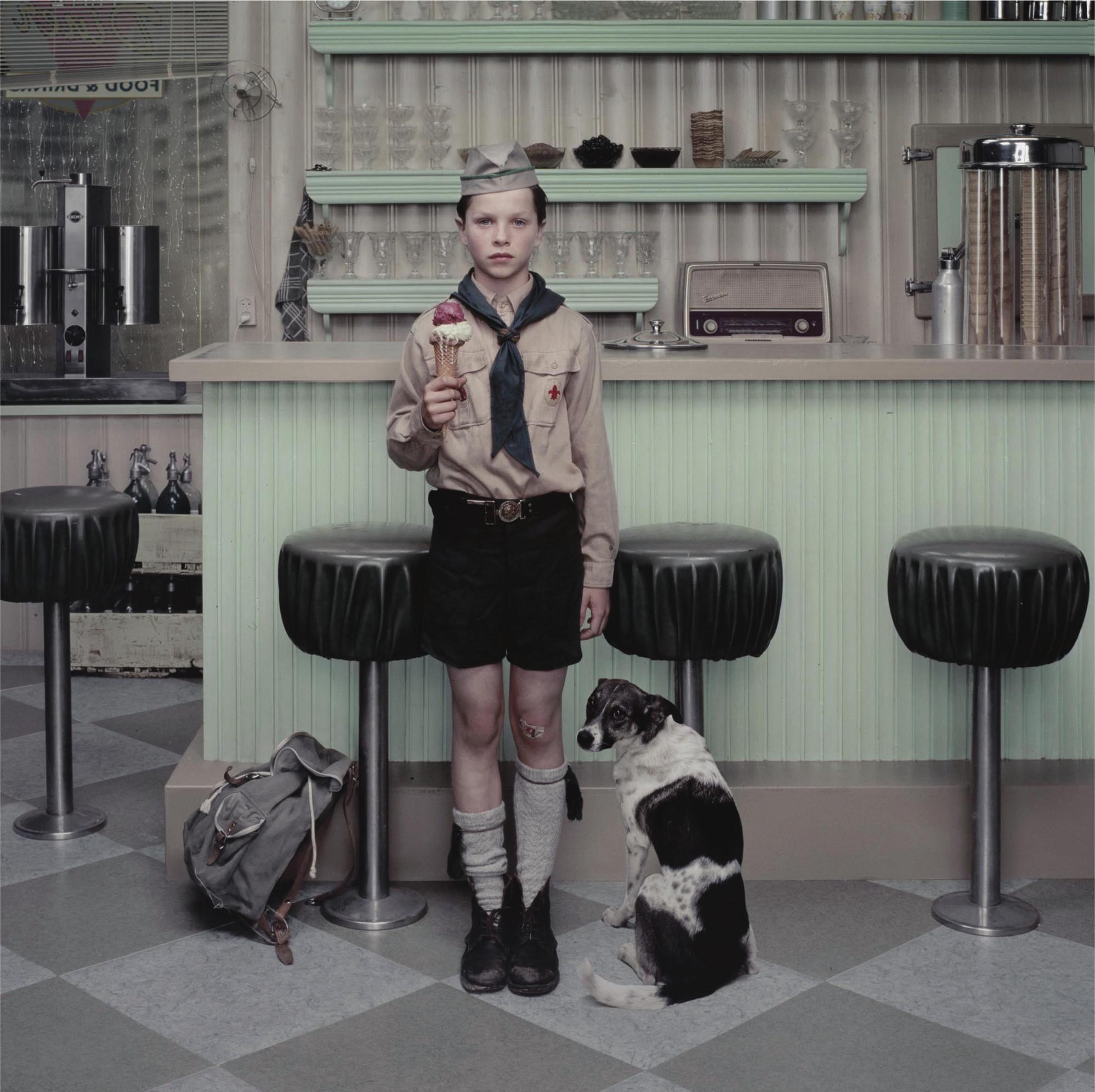 The Ice Cream Parlour from 'Rain', 2004