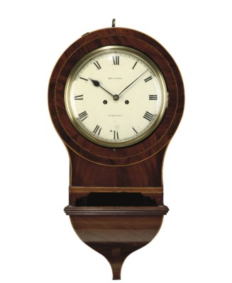 A WILLIAM IV MAHOGANY, EBONY,