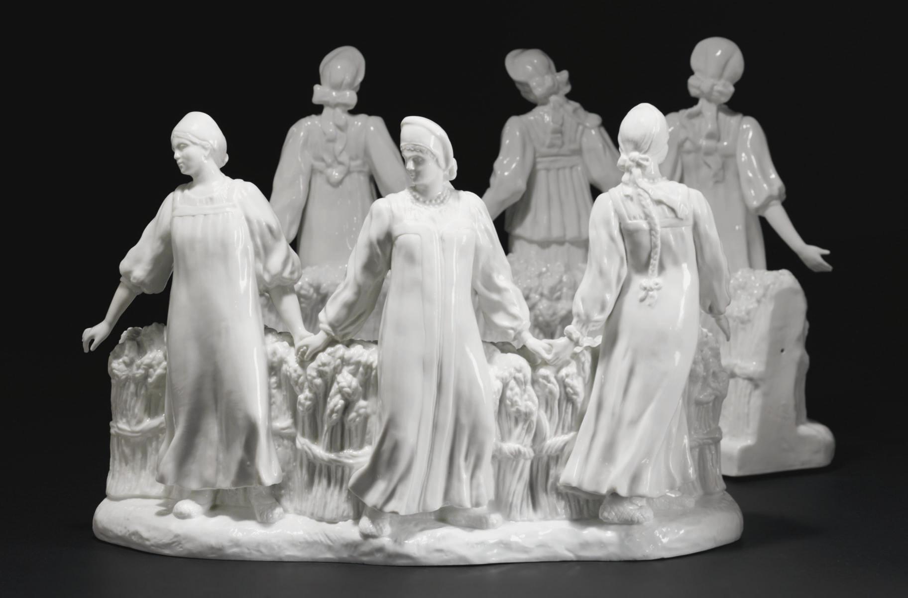 A Rare Porcelain Centre-piece