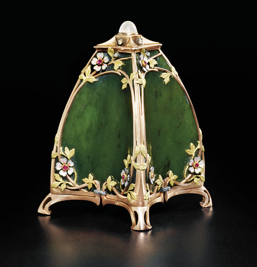 A jewelled and enamel two-colo