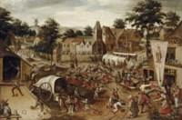 A village kermesse on Saint George's Day