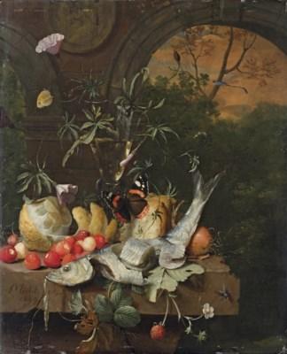 Jan Mortel (Leiden c. 1650-171