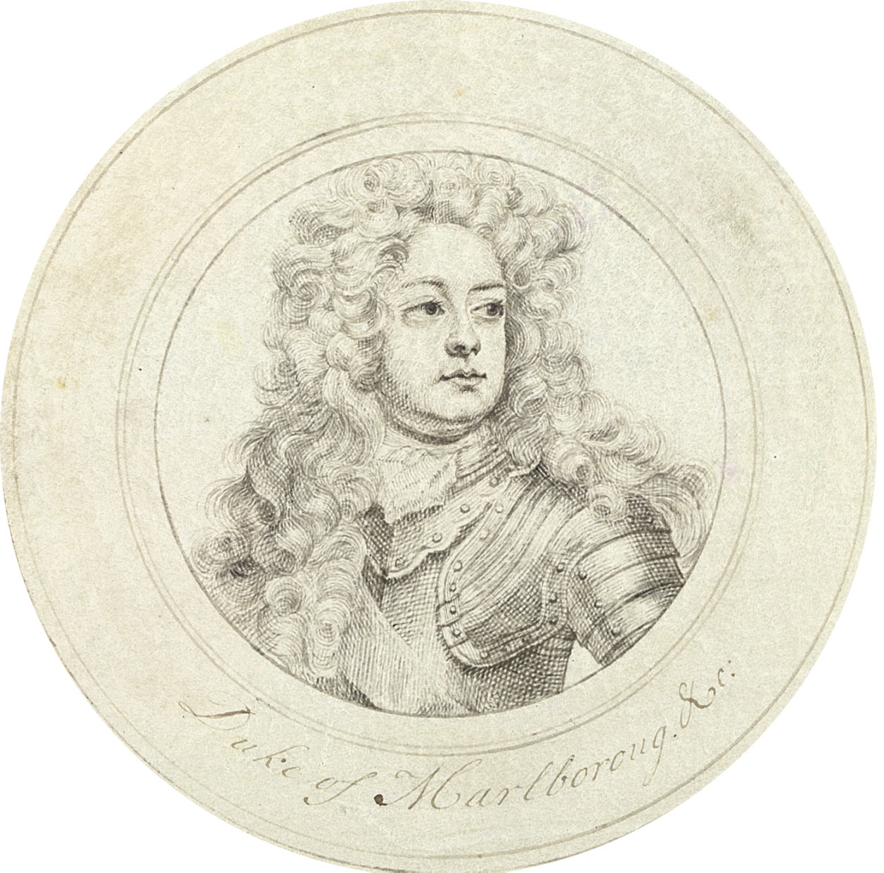 Portrait of John Churchill, 1st Duke of Marlborough (1650-1722), bust- length