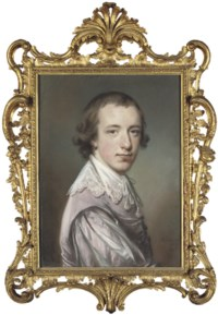 Portrait of Peter Pennington Legh, of Booths Hall, Cheshire, half-length, in Van Dyck costume