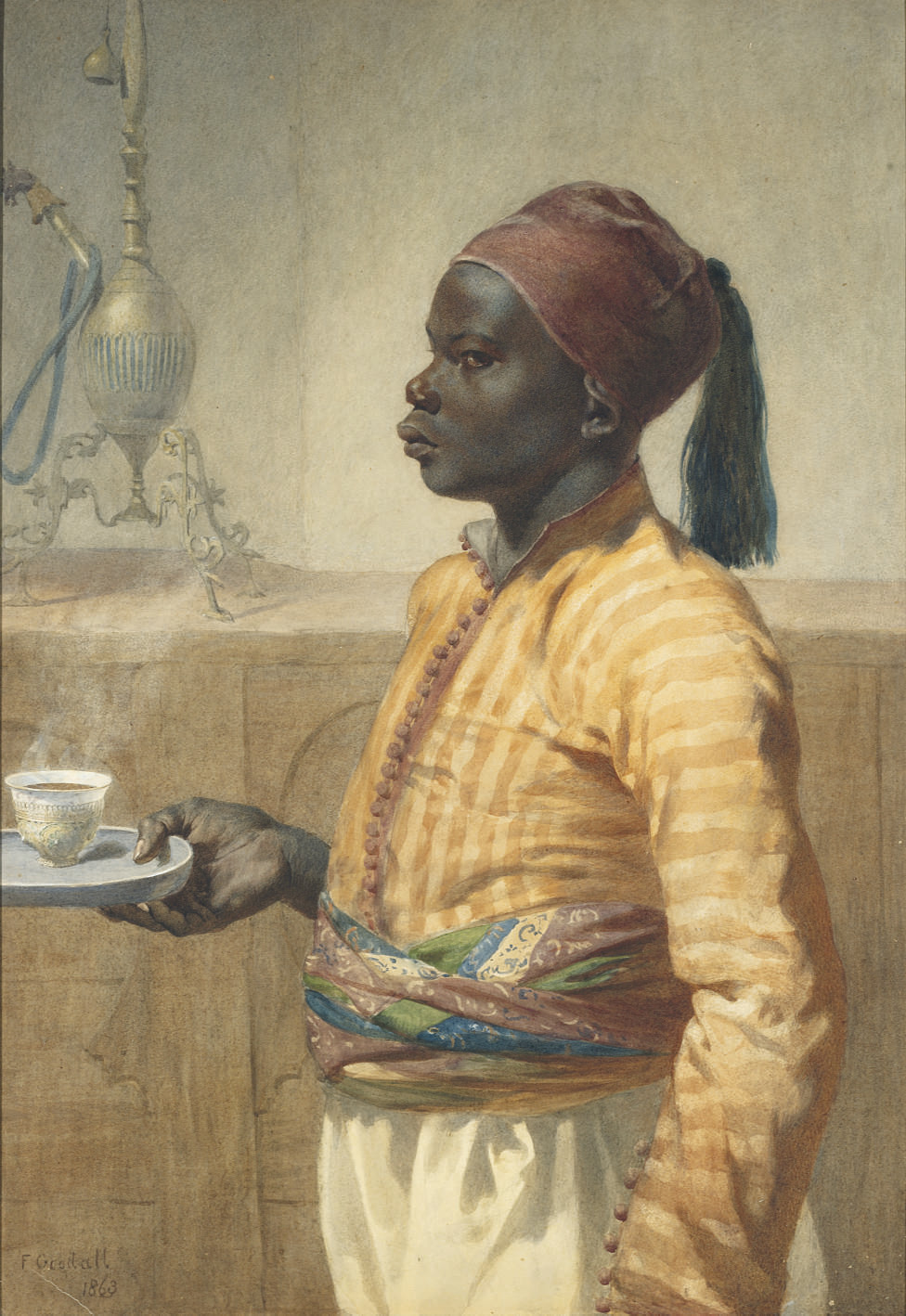 The Nubian coffee boy